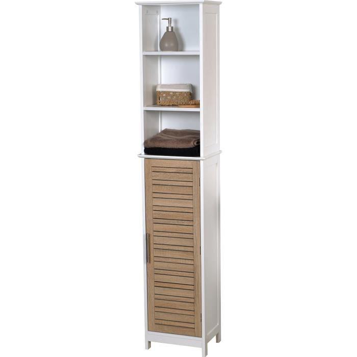 Meuble colonne salle de bain stockholm bois achat - Ikea meuble salle de bain colonne ...