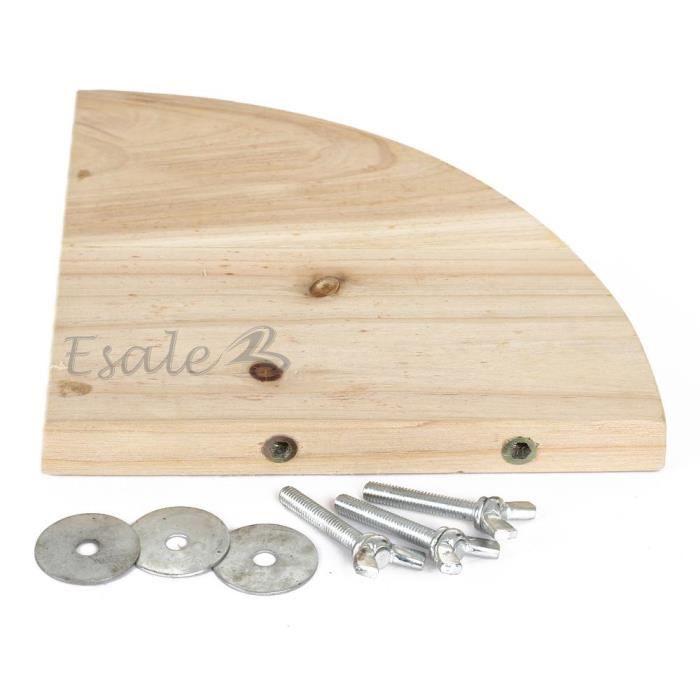 Plate forme terasse bois de cage pour rongeur lapin cobaye - Cage a oiseaux en bois deco ...