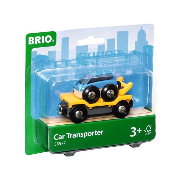 camion transport de voiture avec rampe brio achat vente voiture camion camion transport de. Black Bedroom Furniture Sets. Home Design Ideas