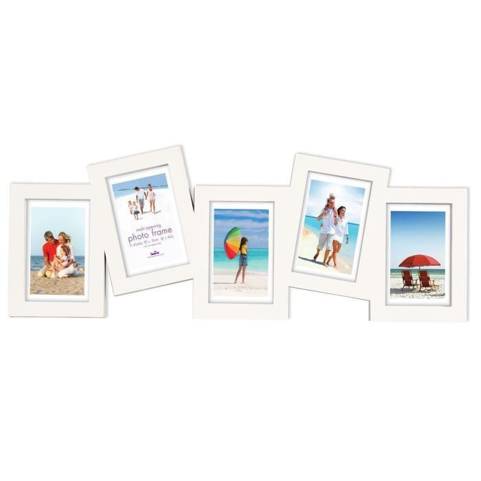 alea cadre photo p le m le 5 photos achat vente p le m le photo plastique verre cdiscount. Black Bedroom Furniture Sets. Home Design Ideas