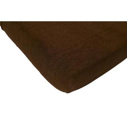 jollein drap housse 60 x 120 cm ponge brun marron achat. Black Bedroom Furniture Sets. Home Design Ideas