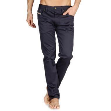 pantalon homme diesel thanaz a 00cvm slim slinny noir. Black Bedroom Furniture Sets. Home Design Ideas