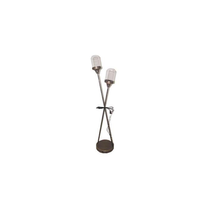 lampadaire 2 tetes achat vente lampadaire 2 tetes pas. Black Bedroom Furniture Sets. Home Design Ideas