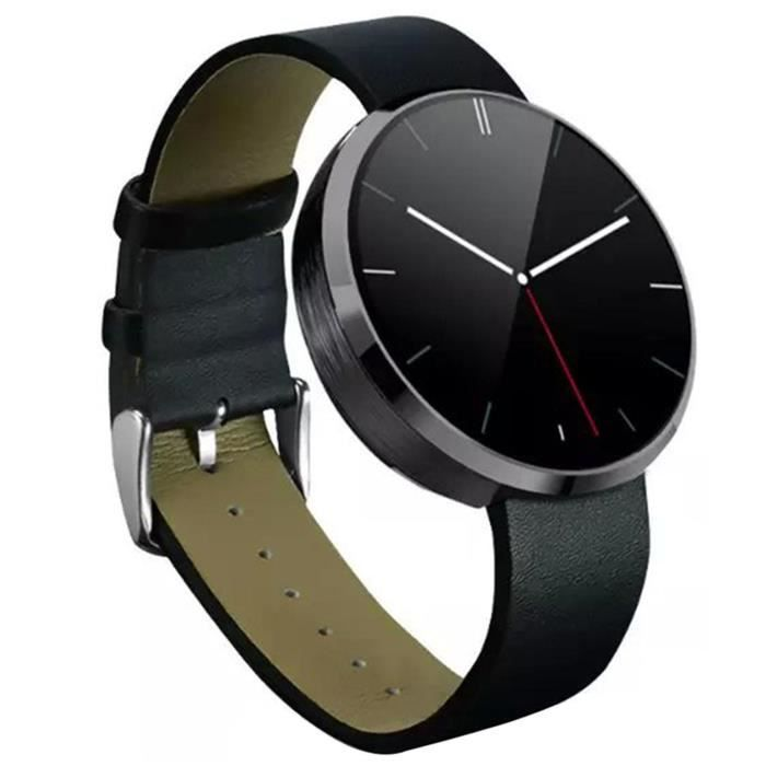 montre connect e dm360 smartwatch moniteur de fr quence cardiaque fitness tracker achat. Black Bedroom Furniture Sets. Home Design Ideas