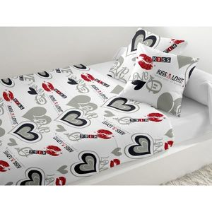 parure de lit pour adolescent achat vente parure de lit pour adolescent pas cher cdiscount. Black Bedroom Furniture Sets. Home Design Ideas