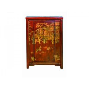 meuble chinois rouge achat vente meuble chinois rouge. Black Bedroom Furniture Sets. Home Design Ideas