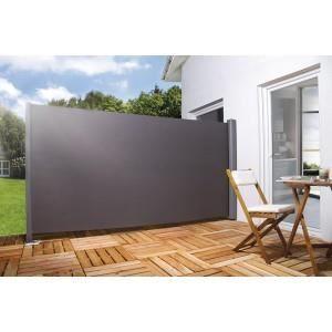 Brise Vue Pour La Terrasse H180 X L 300 Cm Noir Achat