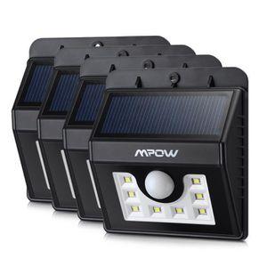 lampe solaire avec detecteur achat vente lampe solaire avec detecteur pas cher cdiscount. Black Bedroom Furniture Sets. Home Design Ideas