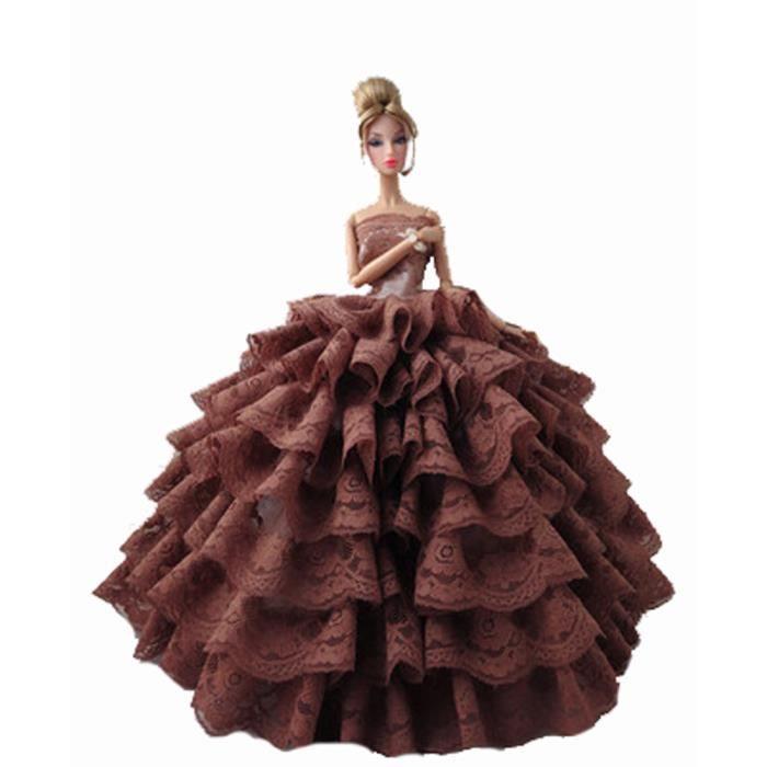 Robe de v tements de poup e jupe vari t de mariage de for Robes de mariage haut de gamme