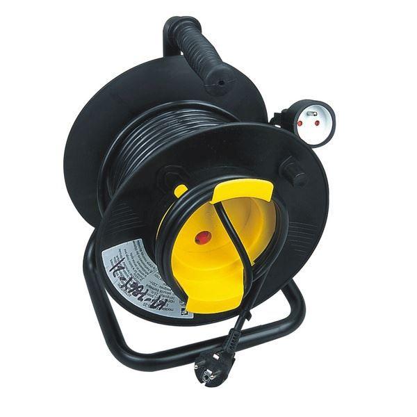 Enrouleur electrique de jardin 25 m 3g1 5mm achat for Rallonge electrique de jardin