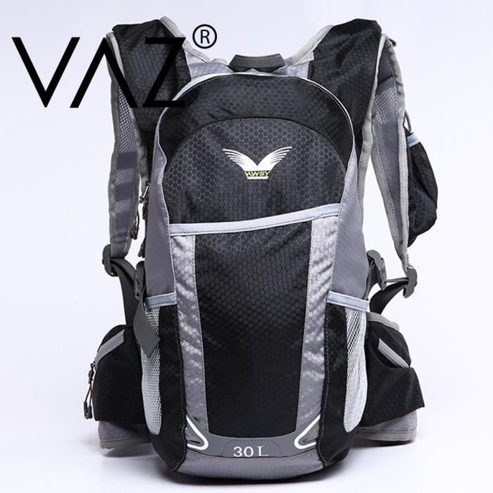 vaz sac dos randonn e professionnel home et femme tanche nylon backpacks 30l pour le sport. Black Bedroom Furniture Sets. Home Design Ideas