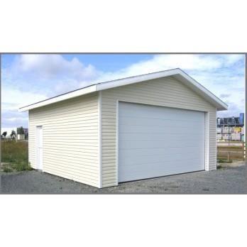 garage double en ossature bois avec bardage 40 achat vente garage garage double en. Black Bedroom Furniture Sets. Home Design Ideas