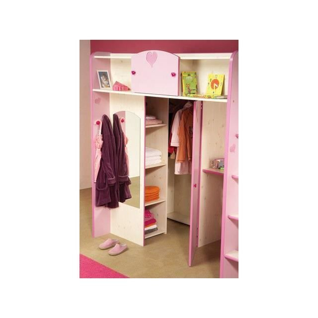 Lit mezzanine enfant lola 1 achat vente lit mezzanine cdiscount for Photo lit mezzanine