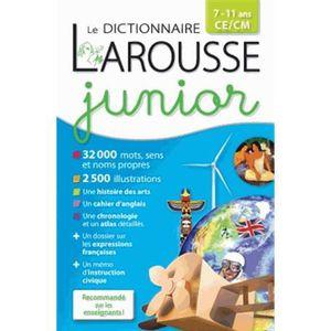 DICTIONNAIRES Dictionnaire Larousse junior