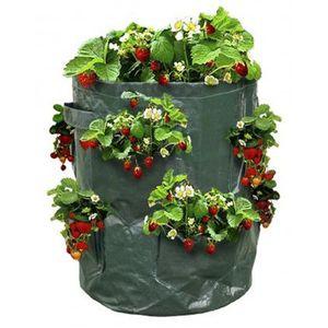 sac fraisiers sac de plantation pour fraises achat vente jardini re pot fleur sac. Black Bedroom Furniture Sets. Home Design Ideas