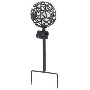 Eclairage boule solaire jardin achat vente eclairage for Lampe boule exterieur
