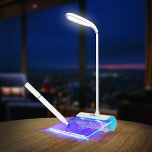 LAMPE A POSER USB rechargeable réglable LED lampe de lecture du