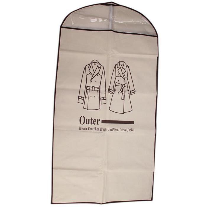 new cool sac housse de rangement pour manteau anti poussi re pour homme v tement achat vente. Black Bedroom Furniture Sets. Home Design Ideas