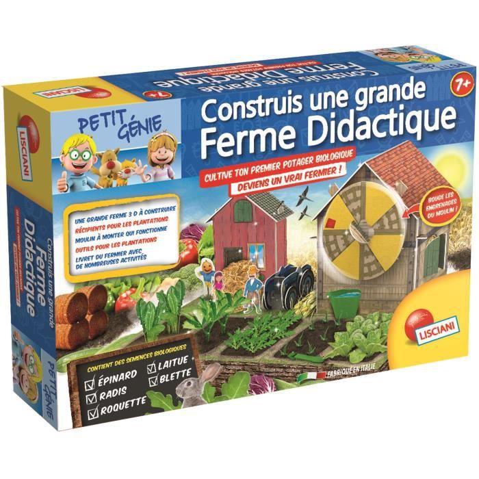 Lisciani petit g nie la grande ferme didactique jeu scientifique achat - Cdiscount belgique ferme ...