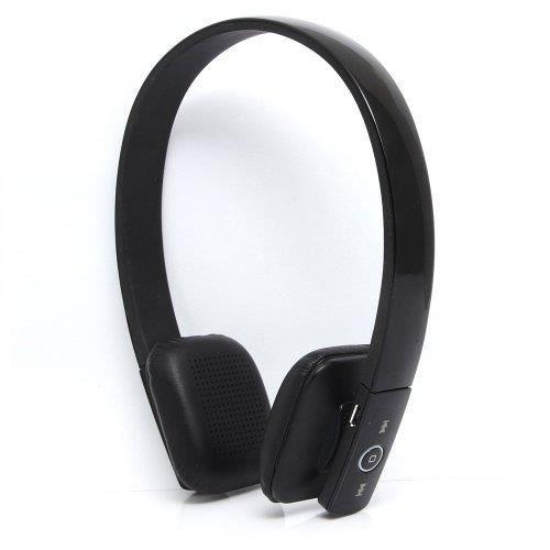 nesx df 610 casque sans fil avec bluetooth noir casque couteur audio avis et prix pas cher. Black Bedroom Furniture Sets. Home Design Ideas
