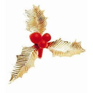 Decoration de noel rouge et or achat vente decoration de noel rouge et or pas cher cdiscount - Decoration de noel avec du houx ...