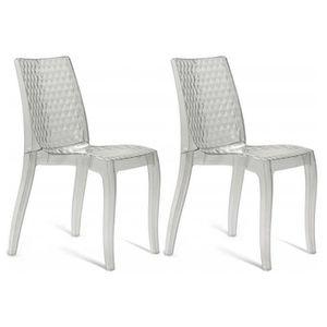 Lot chaises transparente achat vente lot chaises transparente pas cher - Chaise transparente discount ...