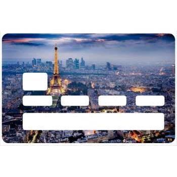 Sticker autocollant d coratif pour carte bancaire paris for Autocollant decoratif maison