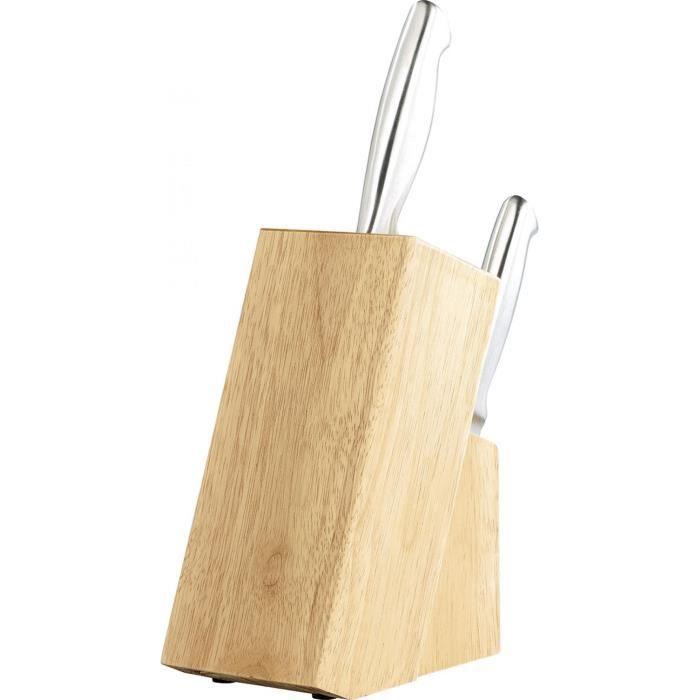 Bloc pour couteaux en bois achat vente piscine bloc pour couteaux en bois cdiscount - Bloc en bois pour couteau ...