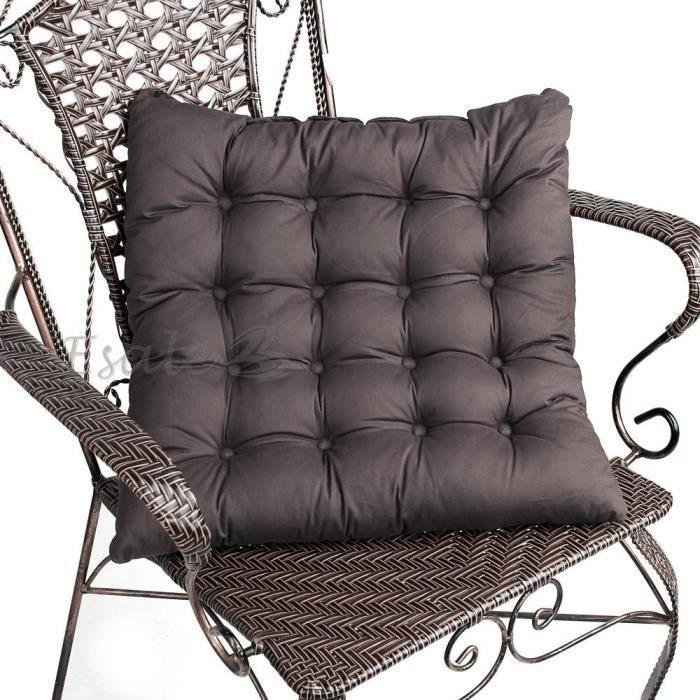coussin galette dessus de chaise si ge fauteuil achat vente coussin de chaise coussin. Black Bedroom Furniture Sets. Home Design Ideas