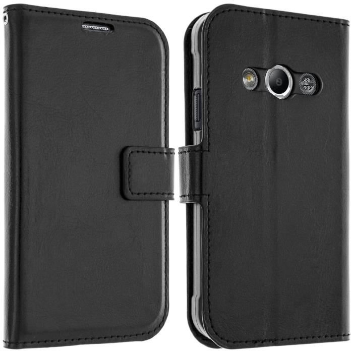 Housse portefeuille porte carte samsung galaxy xcover 3 for Housse xcover 4