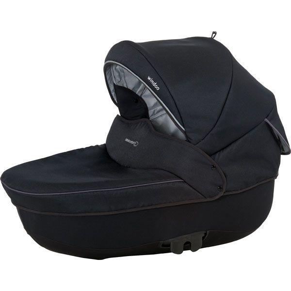 bebe confort nacelle windoo plus total black achat vente nacelle nacelle windoo plus. Black Bedroom Furniture Sets. Home Design Ideas