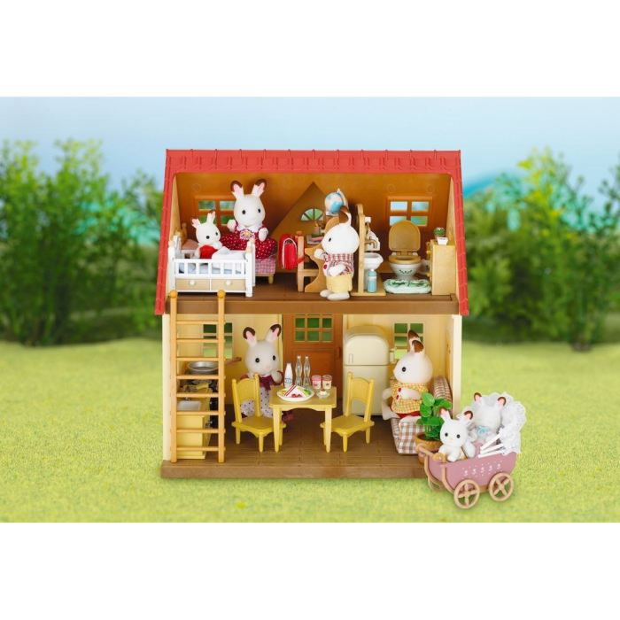 sylvanian families set cottage ancienne r f rence achat vente figurine personnage cdiscount. Black Bedroom Furniture Sets. Home Design Ideas