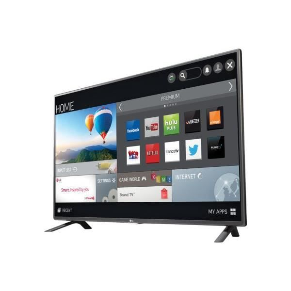 tv lg 32lf5800 200hz mci smart tv t l viseur led prix pas cher cdiscount. Black Bedroom Furniture Sets. Home Design Ideas