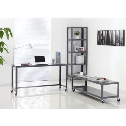 Pack meuble tv tag re et bureau alcali sur achat for Meuble bureau etagere atlas