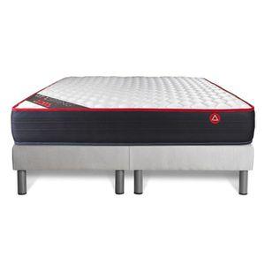 ensemble matelas sommier 200x200 achat vente. Black Bedroom Furniture Sets. Home Design Ideas