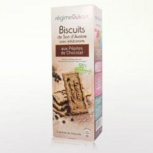 Dukan : biscuits son d'avoine pépite chocolat