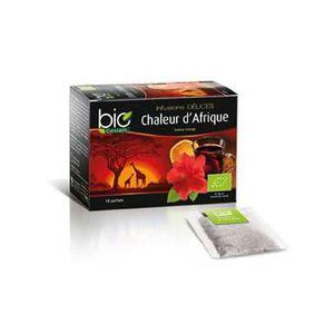 Infusion Chaleur d'Afrique saveur Orange 18 sac...