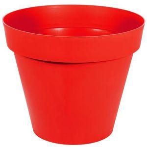 pot de fleurs exterieur rouge achat vente pot de fleurs exterieur rouge pas cher cdiscount. Black Bedroom Furniture Sets. Home Design Ideas