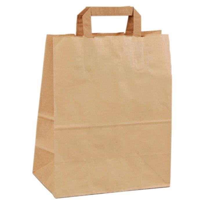 sac cabas papier kraft p 250 cuisine usage unique emballages achat vente sac. Black Bedroom Furniture Sets. Home Design Ideas