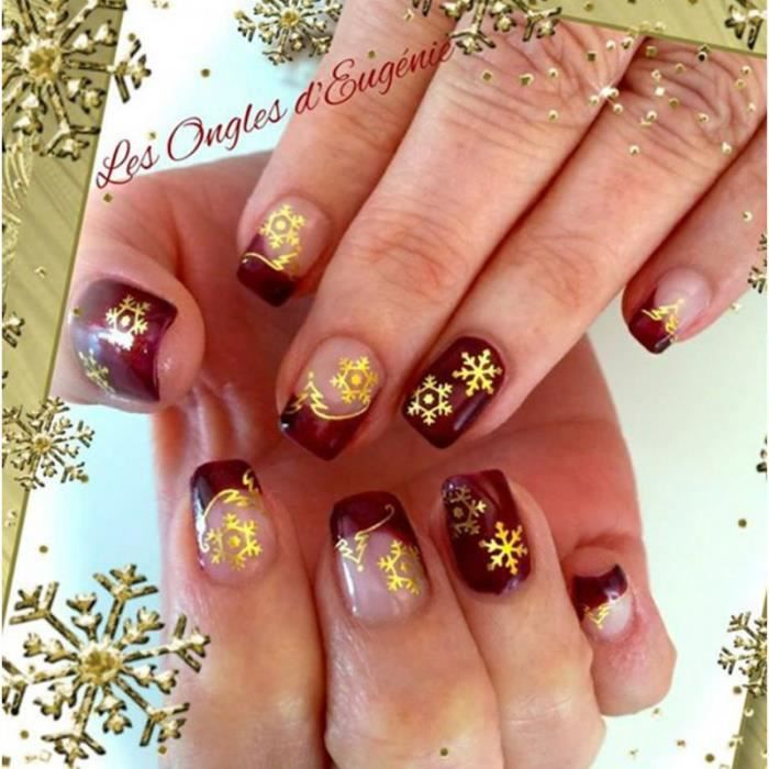 water decal pour ongles flocon de neige no achat vente stickers strass water decal. Black Bedroom Furniture Sets. Home Design Ideas