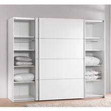 armoire 2 portes coulissantes verona blanc achat vente armoire de chambre armoire 2 portes. Black Bedroom Furniture Sets. Home Design Ideas