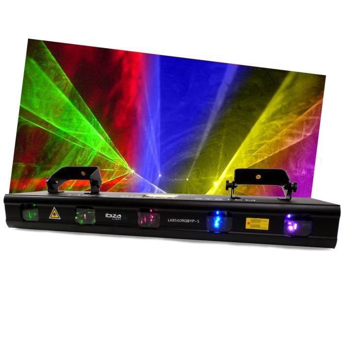laser a 5 lentilles ibiza light las560rgbyp 5 eclairage laser avis et prix pas cher les. Black Bedroom Furniture Sets. Home Design Ideas