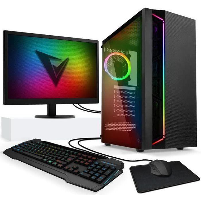 vibox standard pack 3xsw 3 8ghz amd 4x core radeon r7 gpu 16go ram 2to gamer pc pas de. Black Bedroom Furniture Sets. Home Design Ideas