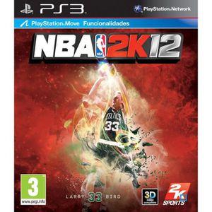 JEU PS3 NBA 2K12 LARRY BIRD / Jeu console PS3