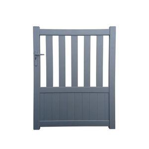 Portail 1 30 de hauteur achat vente portail 1 30 de for Portillon pvc gris