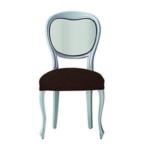 Housse de chaise marron achat vente housse de chaise - Housse de chaise marron ...