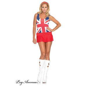 DÉGUISEMENT - PANOPLIE Costume 3 pièces Belle Anglaise - Leg Avenue Leg A