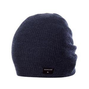 BONNET , CAGOULE Bonnet Quiksilver Cushy Slouch Bleu Fonce Blazer H