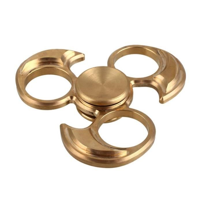fidget spinner edc handspinner jouet m tallique cuivre. Black Bedroom Furniture Sets. Home Design Ideas