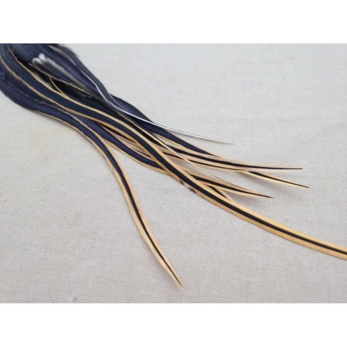 extension de plume pour cheveux 25 30cm xl blackvanille achat vente m che extensions. Black Bedroom Furniture Sets. Home Design Ideas